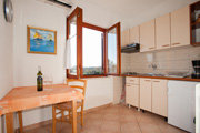 Rovinj holidays kitchen